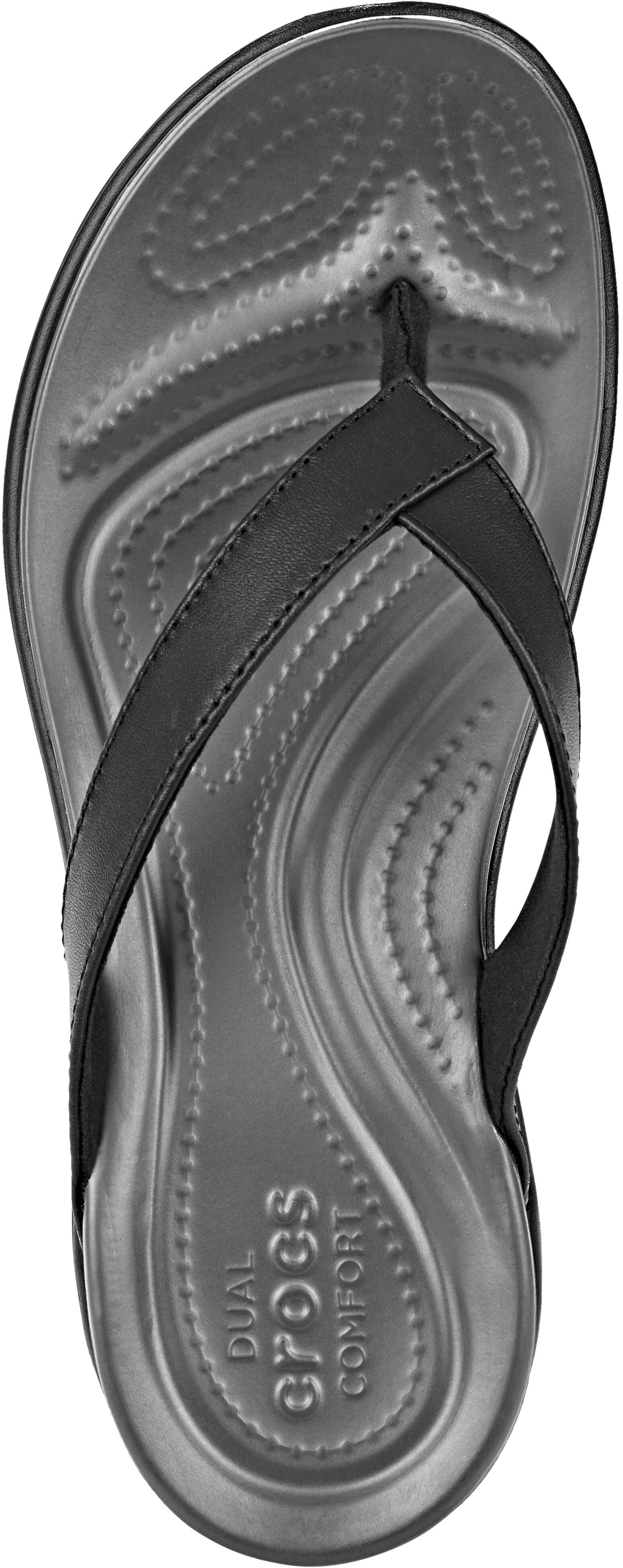 Crocs Capri V Sandali Donna, black/graphite (2020) 702056 l2TRW